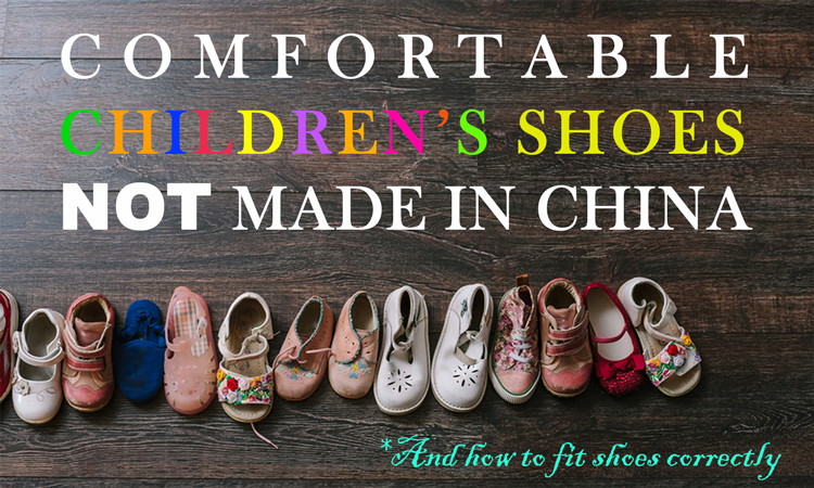 a59996bbd07a Children s shoes NOT made in China. High quality and comfortable options.